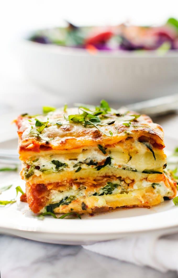 Vegetarian Lasagna Mimo Pizza